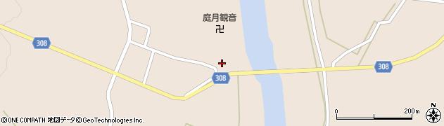 山形県最上郡鮭川村庭月2830周辺の地図