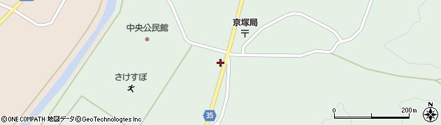 山形県最上郡鮭川村京塚1157周辺の地図