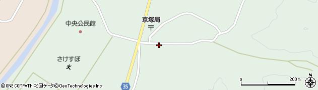 山形県最上郡鮭川村京塚1112周辺の地図