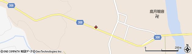 山形県最上郡鮭川村庭月2865周辺の地図