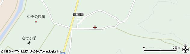 山形県最上郡鮭川村京塚1093周辺の地図