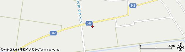 山形県東田川郡庄内町廻館館舎115周辺の地図