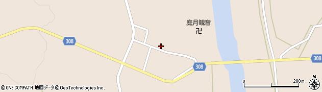 山形県最上郡鮭川村庭月2836周辺の地図