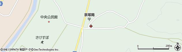 山形県最上郡鮭川村京塚1097周辺の地図