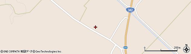 岩手県一関市花泉町涌津(下町)周辺の地図