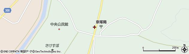 山形県最上郡鮭川村京塚1194周辺の地図