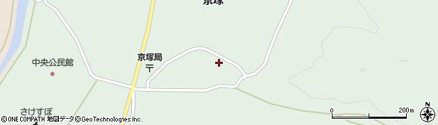 山形県最上郡鮭川村京塚1046周辺の地図