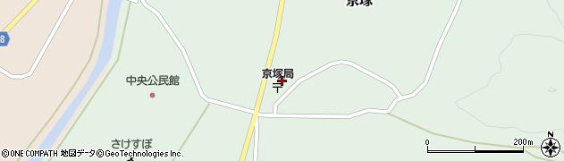 山形県最上郡鮭川村京塚1108周辺の地図