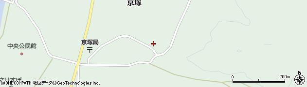 山形県最上郡鮭川村京塚1024周辺の地図