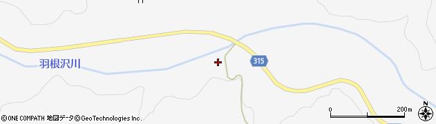 山形県最上郡鮭川村中渡1490周辺の地図