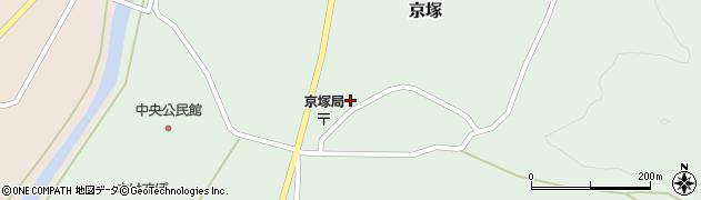 山形県最上郡鮭川村京塚1105周辺の地図