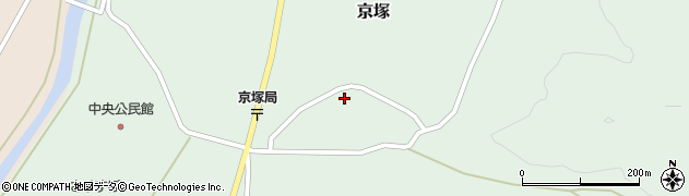 山形県最上郡鮭川村京塚2698周辺の地図