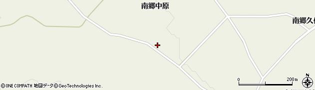 宮城県栗原市鶯沢南郷大伝寺周辺の地図