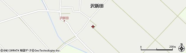 山形県東田川郡庄内町沢新田東中割10周辺の地図