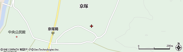 山形県最上郡鮭川村京塚1045周辺の地図