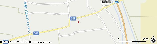 山形県東田川郡庄内町廻館館舎150周辺の地図