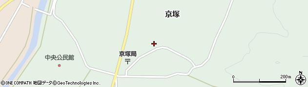 山形県最上郡鮭川村京塚1103周辺の地図