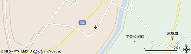 山形県最上郡鮭川村庭月739周辺の地図