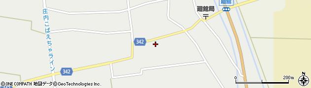 山形県東田川郡庄内町廻館館舎153周辺の地図