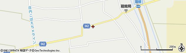 山形県東田川郡庄内町廻館館舎151周辺の地図