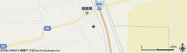 山形県東田川郡庄内町廻館館舎72周辺の地図