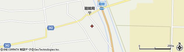 山形県東田川郡庄内町廻館館舎70周辺の地図