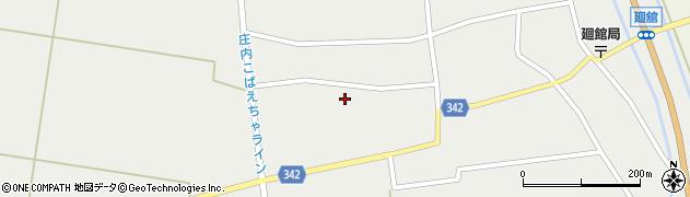 山形県東田川郡庄内町廻館館舎141周辺の地図