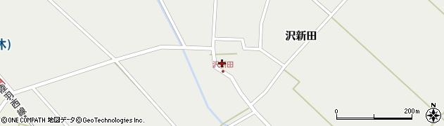 山形県東田川郡庄内町沢新田錆43周辺の地図
