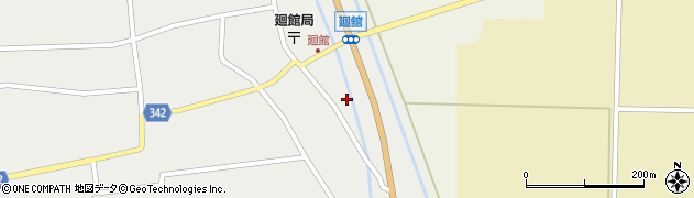 山形県東田川郡庄内町廻館館舎26周辺の地図