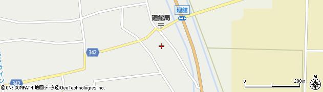 山形県東田川郡庄内町廻館館舎65周辺の地図