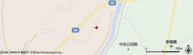 山形県最上郡鮭川村庭月746周辺の地図