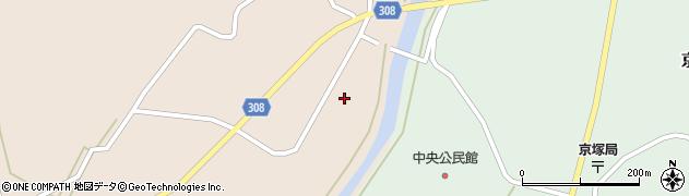 山形県最上郡鮭川村庭月749周辺の地図