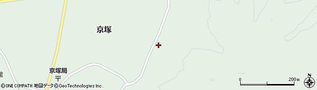 山形県最上郡鮭川村京塚1034周辺の地図