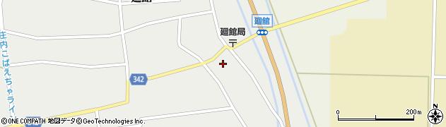 山形県東田川郡庄内町廻館館舎61周辺の地図