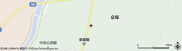 山形県最上郡鮭川村京塚1243周辺の地図