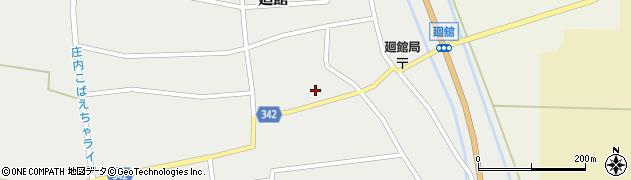 山形県東田川郡庄内町廻館館舎162周辺の地図