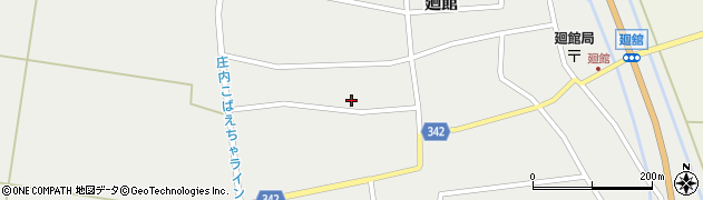 山形県東田川郡庄内町廻館館舎179周辺の地図