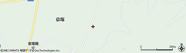 山形県最上郡鮭川村京塚1035周辺の地図
