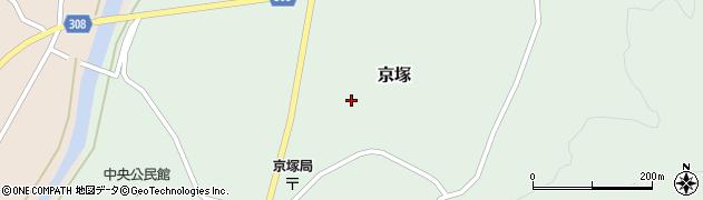 山形県最上郡鮭川村京塚1236周辺の地図