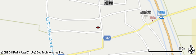 山形県東田川郡庄内町廻館館舎175周辺の地図