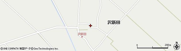 山形県東田川郡庄内町沢新田周辺の地図