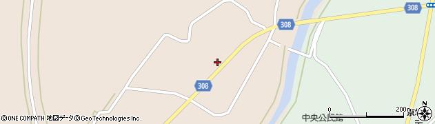 山形県最上郡鮭川村庭月687周辺の地図