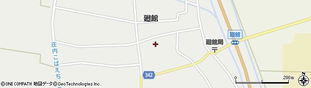 山形県東田川郡庄内町廻館館舎171周辺の地図