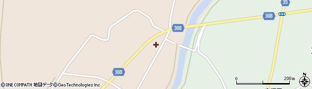 山形県最上郡鮭川村庭月755周辺の地図