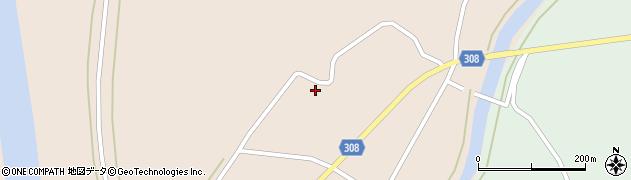 山形県最上郡鮭川村庭月1033周辺の地図