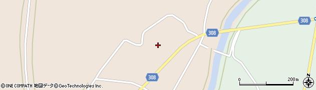 山形県最上郡鮭川村庭月851周辺の地図