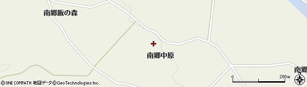 宮城県栗原市鶯沢南郷中原周辺の地図