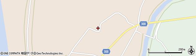 山形県最上郡鮭川村庭月1031周辺の地図