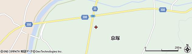 山形県最上郡鮭川村京塚1223周辺の地図