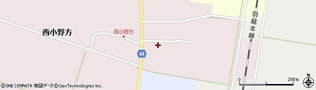 山形県東田川郡庄内町西小野方西農33周辺の地図
